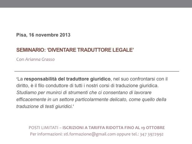 La responsabilità del traduttore giuridico